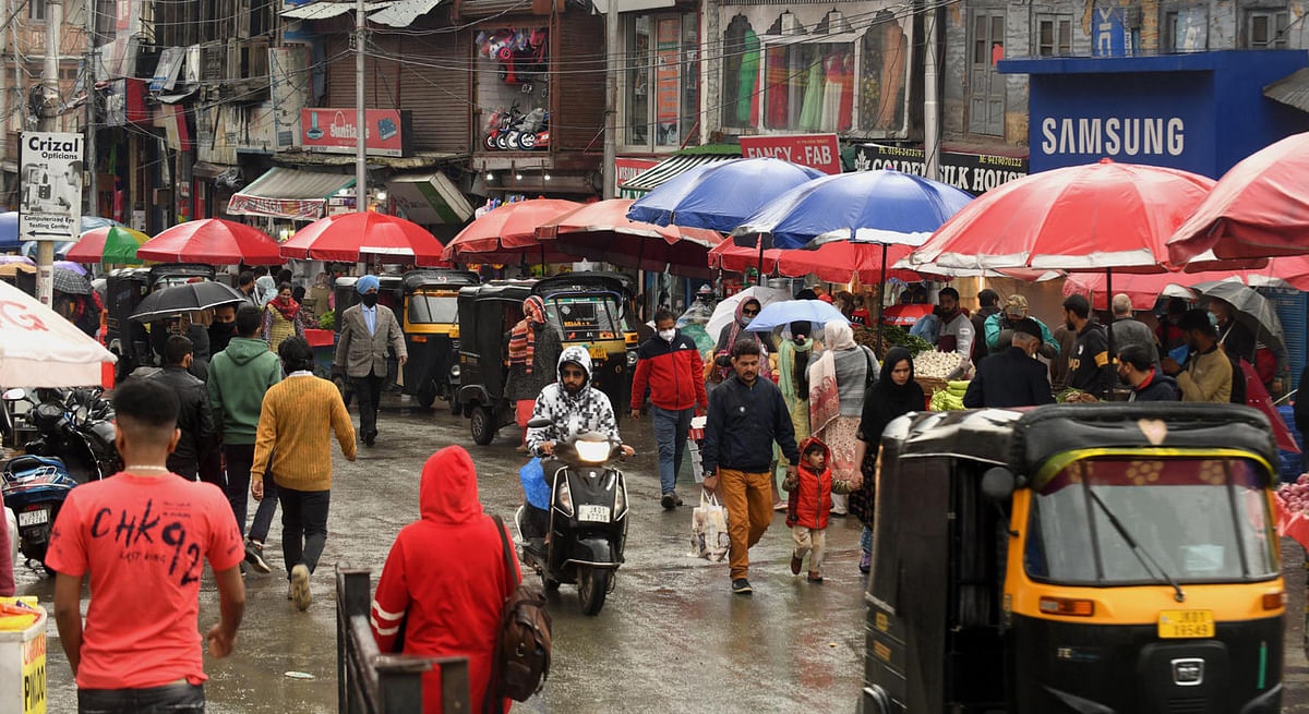 Rains predicted at most places across J&K today