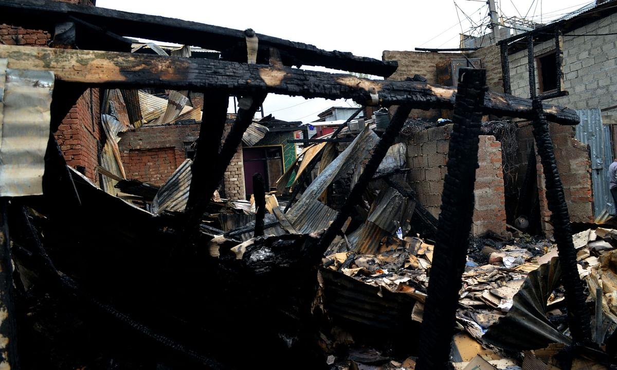 Haftchinar blaze devours two precious lives, renders families homeless