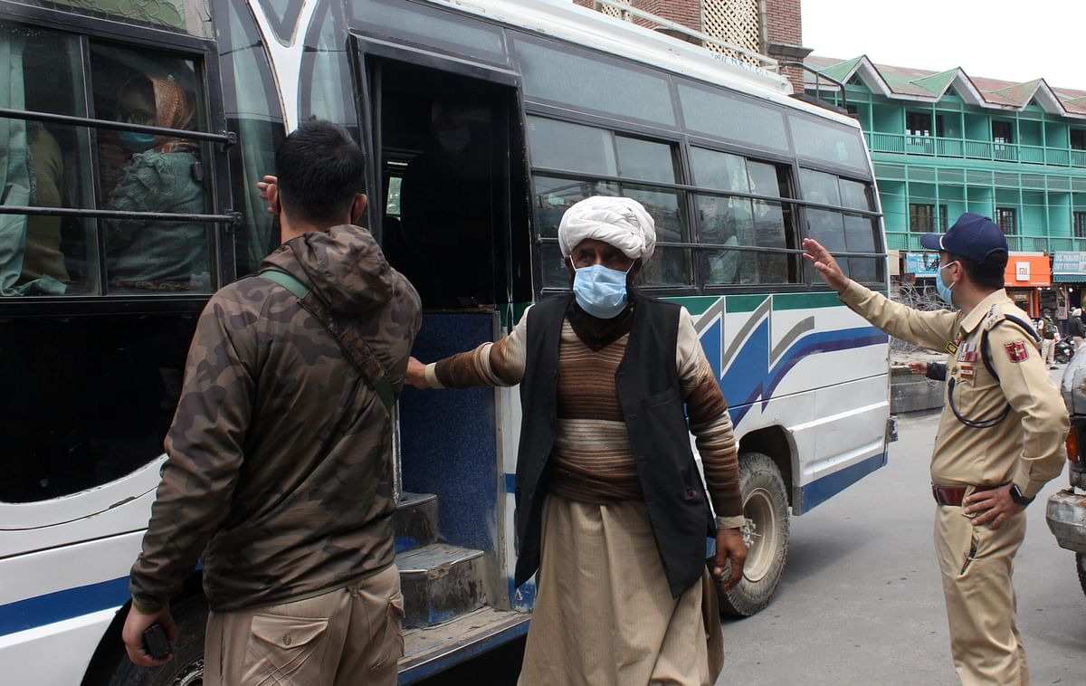 Transporters call 50% occupancy rule an injustice as overcrowded cabs, buses continue to ply in Kashmir