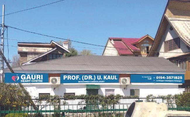 Gauri Heart Centre, Srinagar- Clinic with a Difference