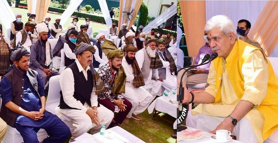 LG for smooth seasonal migration of Gujjar-Bakerwal community
