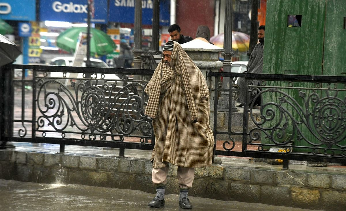 Widespread rains predicted for next 72 hours in J&K