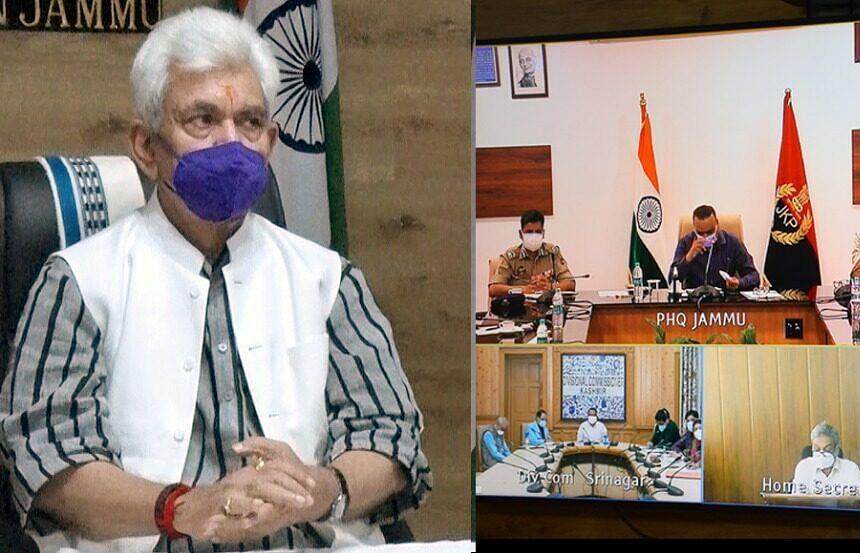 LG Sinha orders oxygen audit across J&K hospitals