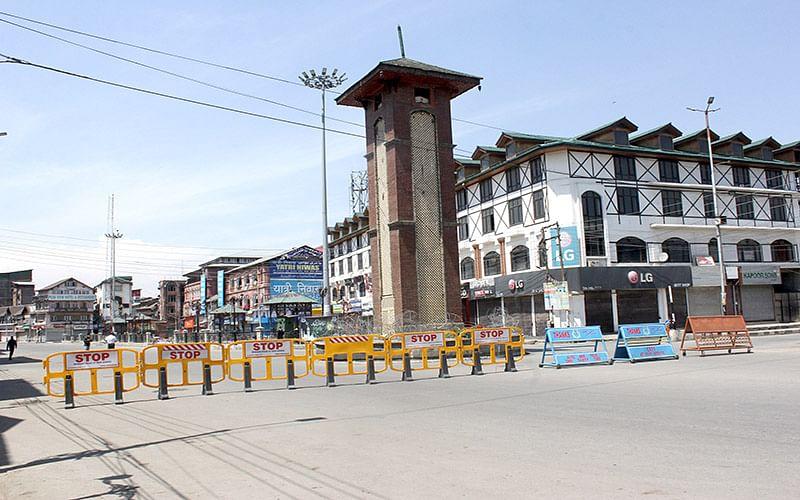 Covid lockdown enforced across Kashmir on day two