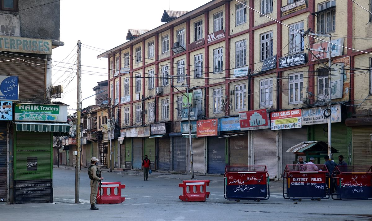 Normal life remains affected across J&K as COVID restrictions continue