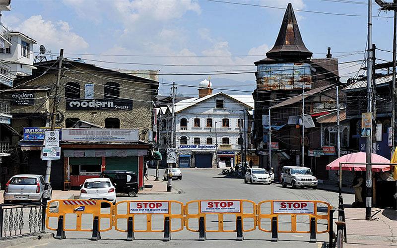 Day-5: Lockdown restrictions intensified in Kashmir