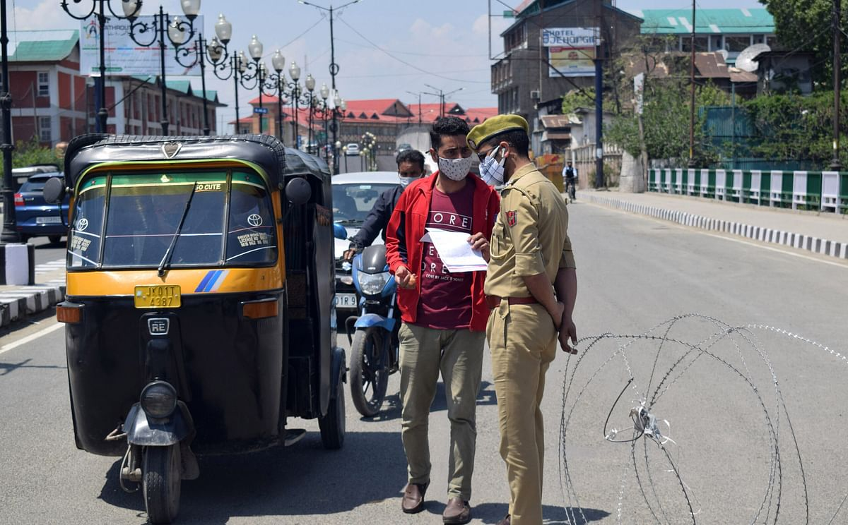 COVID-19 surge: Srinagar declared Red Zone; rest J&K districts Orange Zones