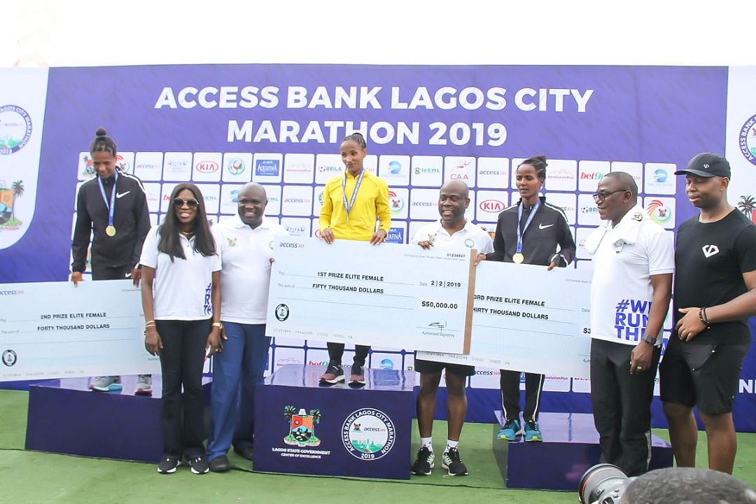 East Africans Dominate The 4th Access Bank Lagos City Marathon