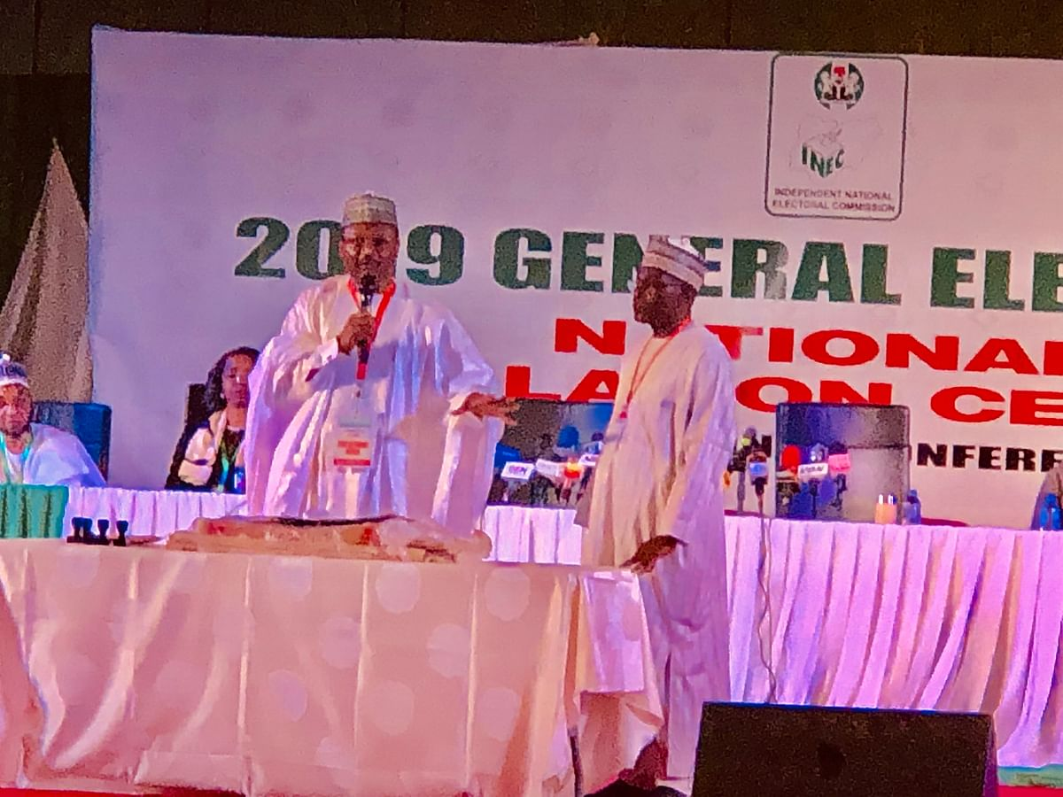 2019 Election: INEC Commences Announcement Of Presidential Election Results