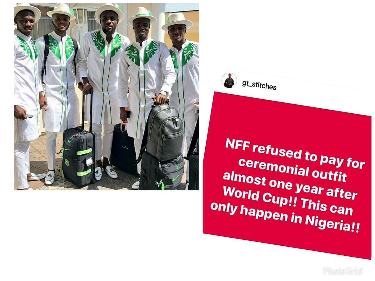 NFF Yet To Pay For World Cup Ceremonial Wears - GT Stitches