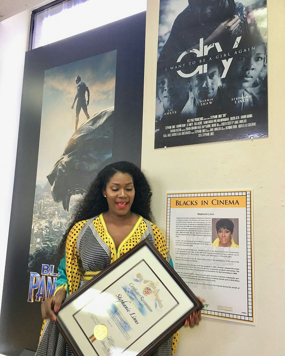 Actresses Omotola Jalade Ekeinde and Stephanie Linus Receive Special Recognition in Los Angeles