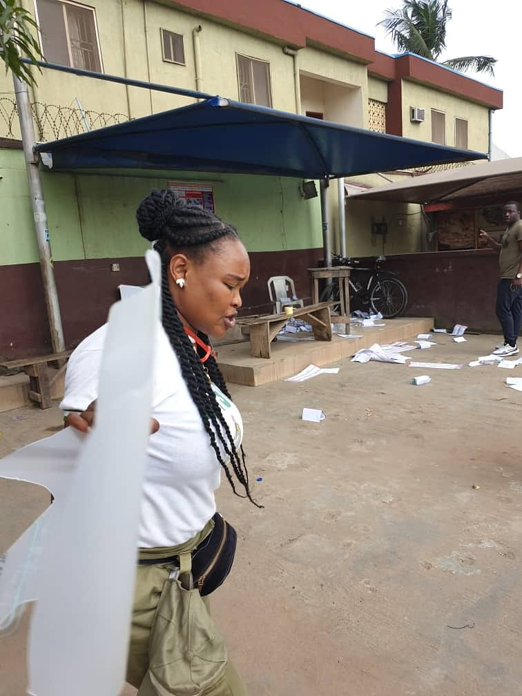 Election Violence in Ajao Estate