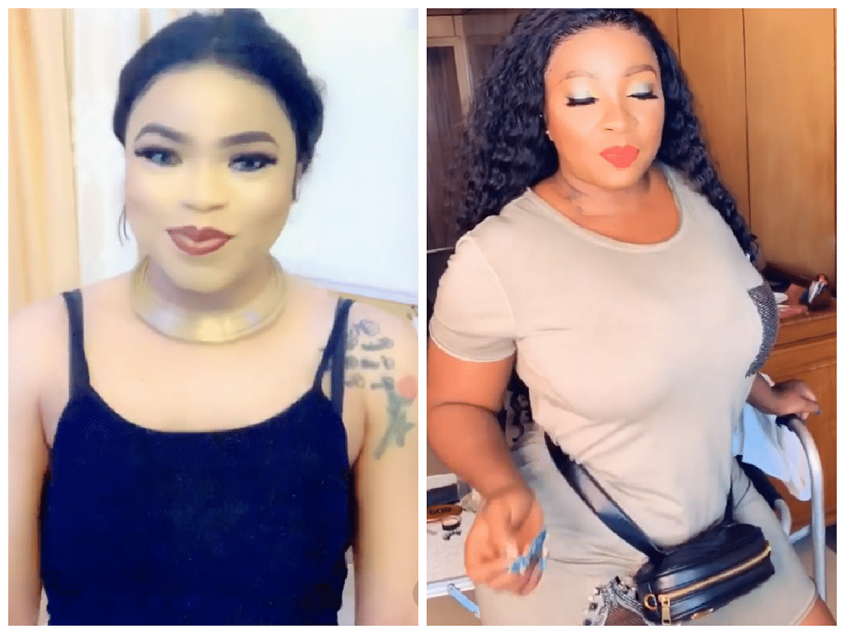 Your Shape is Killing Me - Bobrisky Admits To Lusting After Anita Joseph's Body