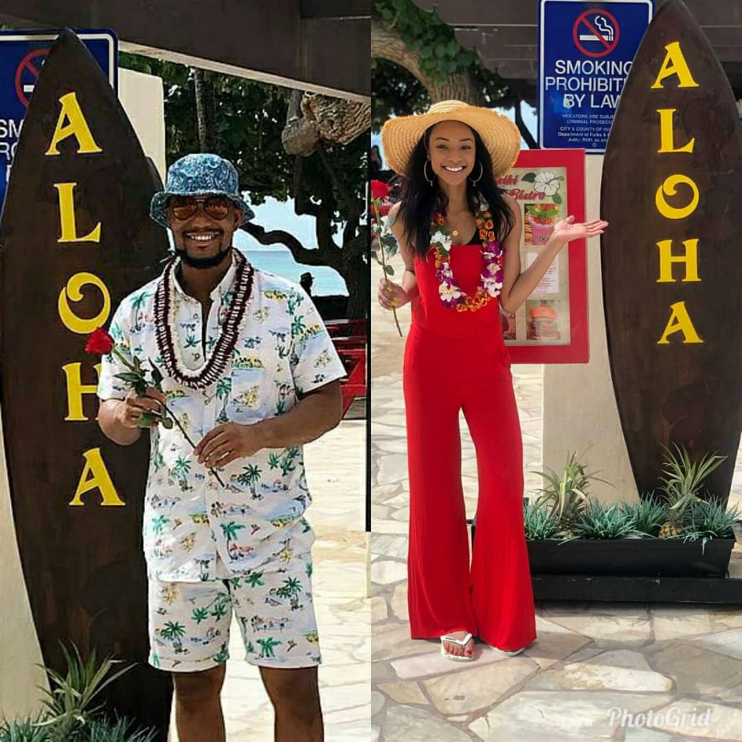 What Election: Actor Alex Ekubo Vacations with Girlfriend in Hawaii
