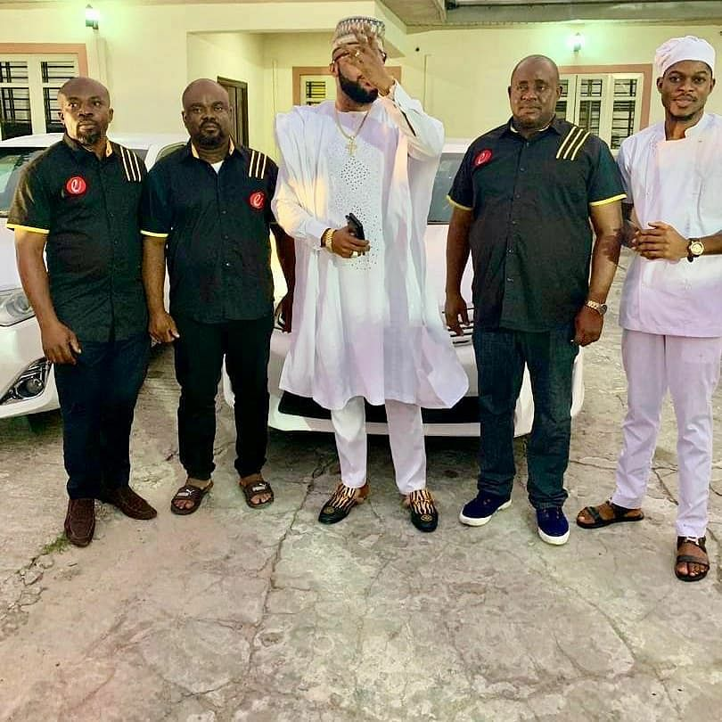 E-Money Blesses Staff With Cars As He Celebrates His Birthday