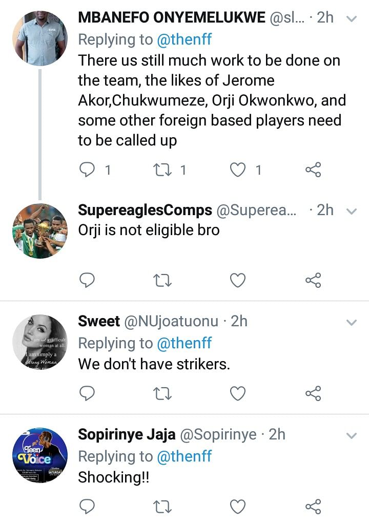 How Nigerians Reacted To Flying Eagles' Ouster From The AFCON U-20 Championship
