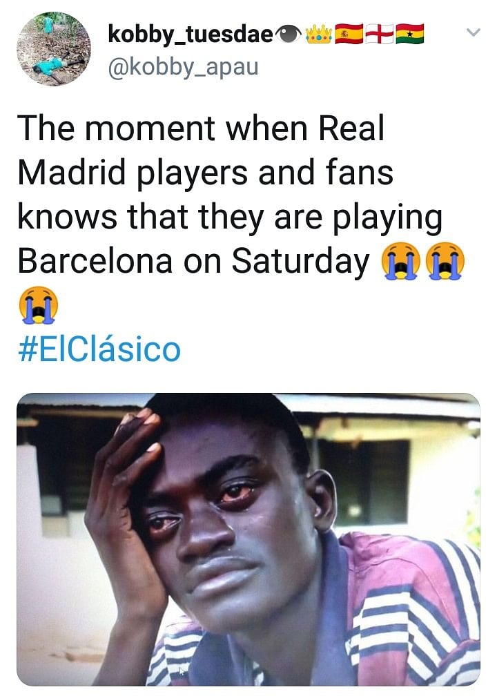 Madrid Trolled By Football Fans After El-Classico Humiliation