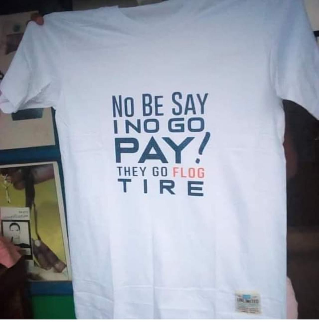 """They go flog me tire"" T-Shirts Hit The Market After Viral School Girl Video"