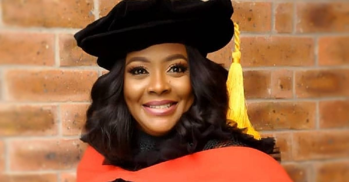 Helen Paul Crowns Herself The First Stand-Up Comedian In Nigeria To Bag A PhD