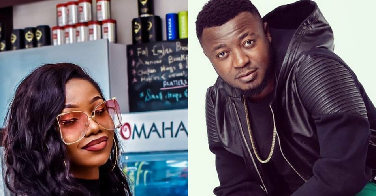 MC Galaxy Dragged As Nollywood Actress, Etinosa, Goes Naked On His IG Live