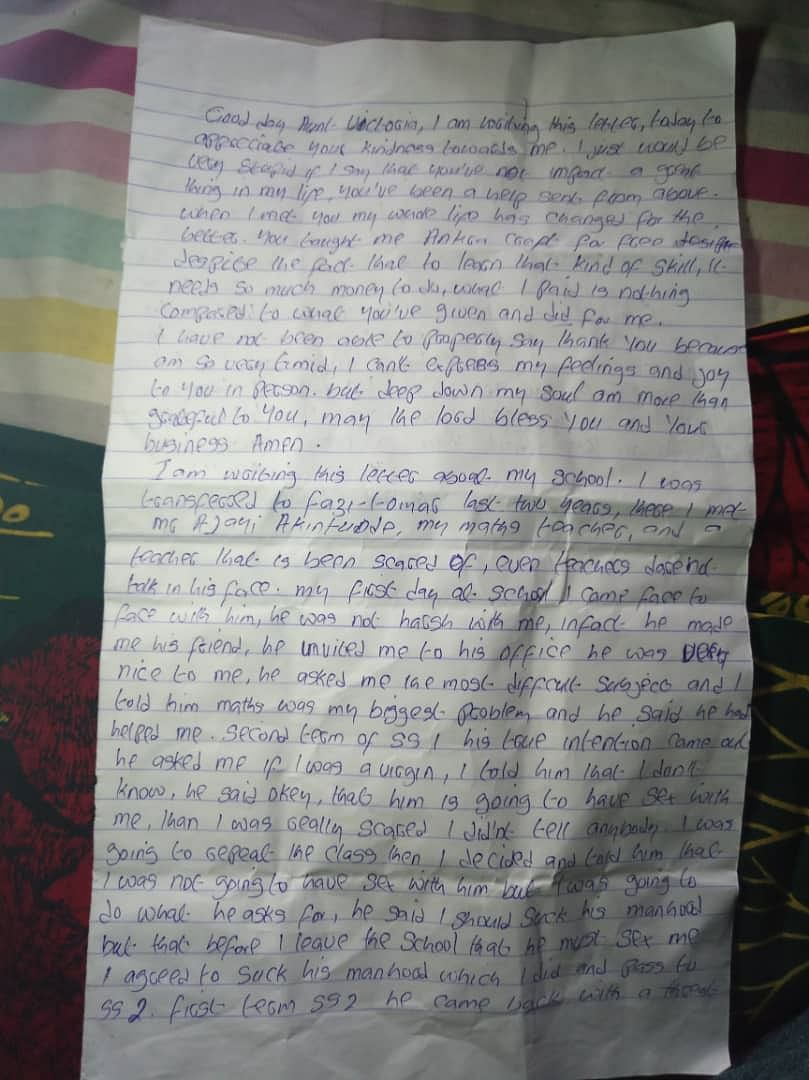 So Sad! Lagos School Teacher Requests For S*x To Promote Student