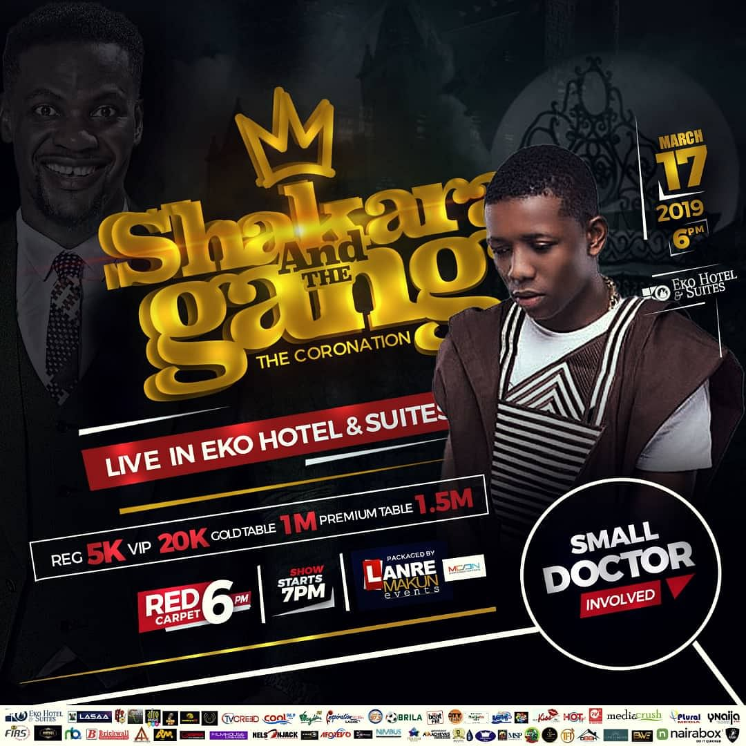 Mc Shakara and the Gang Set to Shut Down Lagos this March