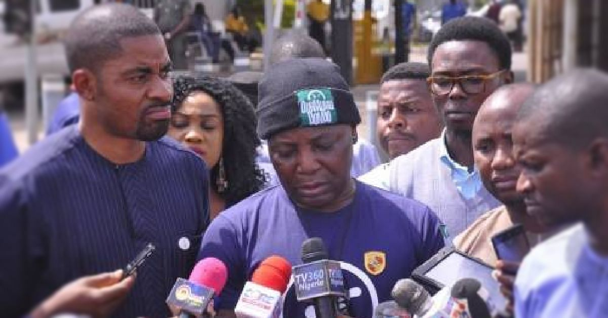 Deji Adeyanju Pulls Out Of OurMumuDonDo After Losing Confidence In Charly Boy'
