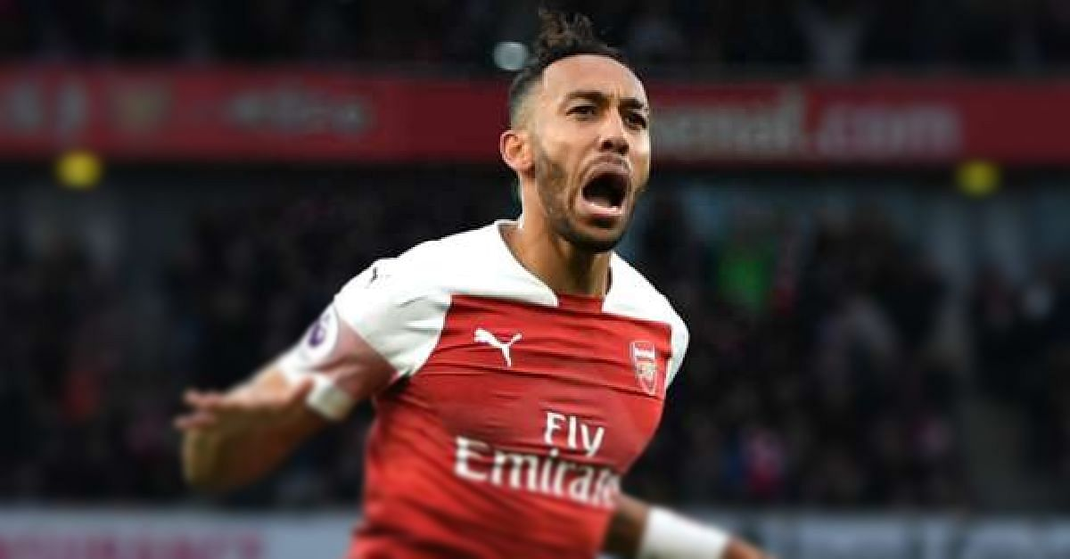 Aubameyang Confident Of Top-four Finish After Win Over Man Utd