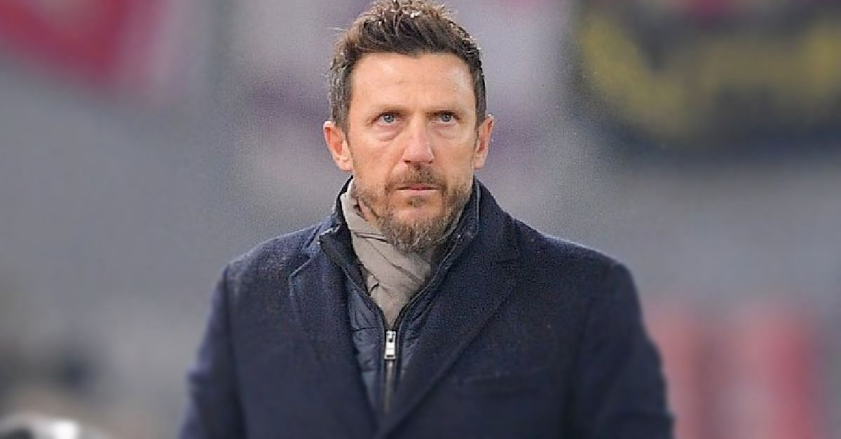 AS Roma Sack Eusebio Di Francesco As Manager