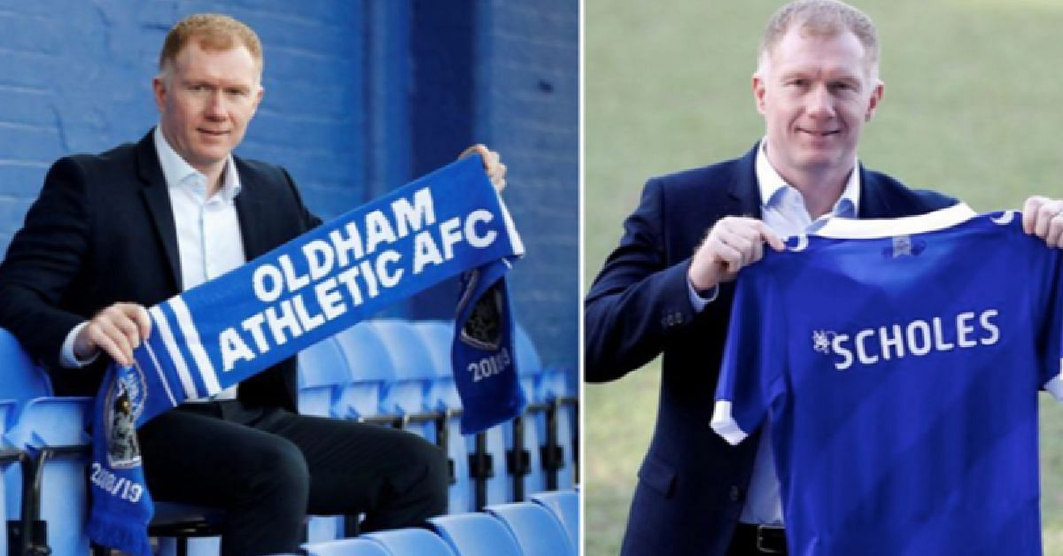 Paul Scholes Resigns From His Role As Oldham Manager Just After 31 Days