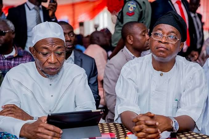 Cold War in Osun State as Gov. Oyetola Snubs Aregbesola's Son For Chief of Staff Appointment