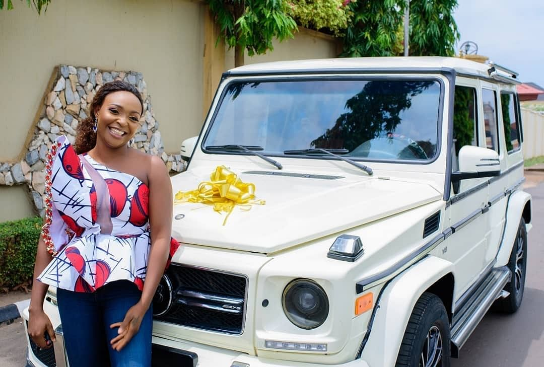 Relationship Blogger, Blessing Okoro, Acquires A Brabus Ahead Of Her 30th Birthday Celebration