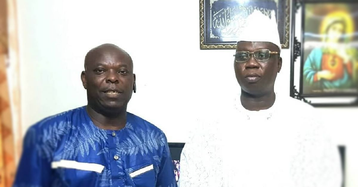 Larry Omodia and Aare Gani Adams