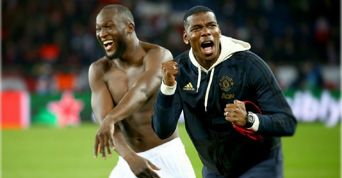 How Pogba And Injured United Stars Celebrated Their Win Against PSG