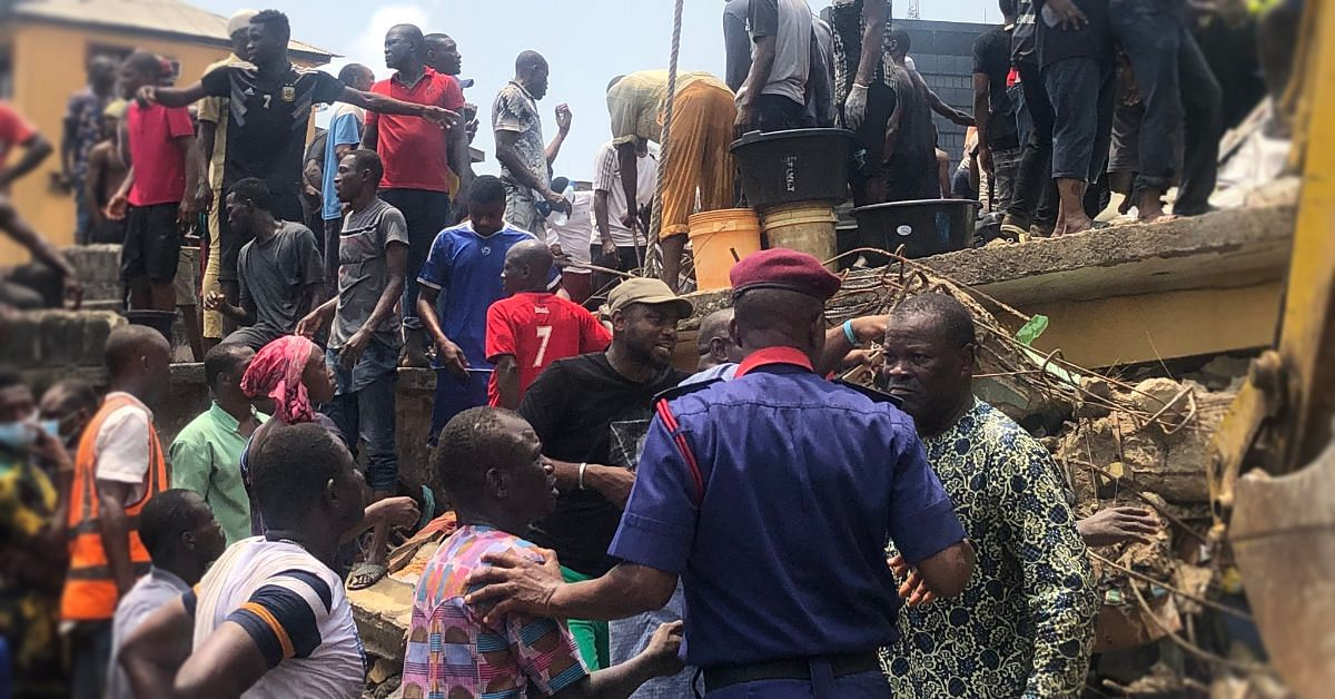 Lagos Island building collapse