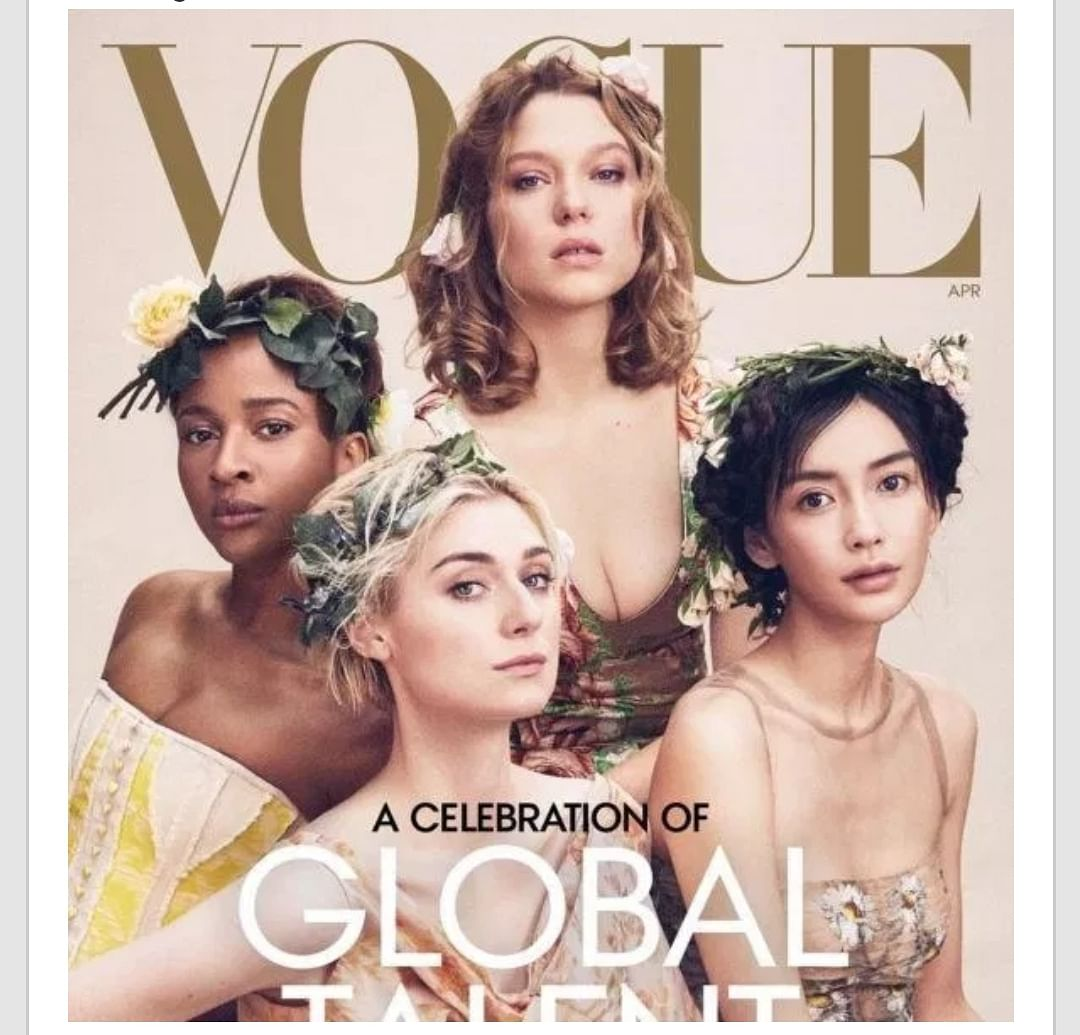 Nigerian Blogger, Tosin Silver, Apologizes To Adesua Etomi For Condemning Her Vogue Cover