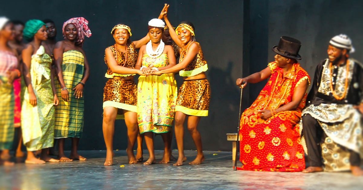 'King Jaja of Opobo' stage play