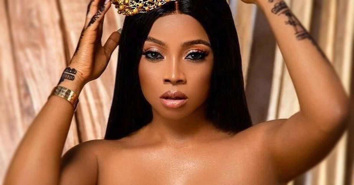 Toke Makinwa and ex-husband, Maje