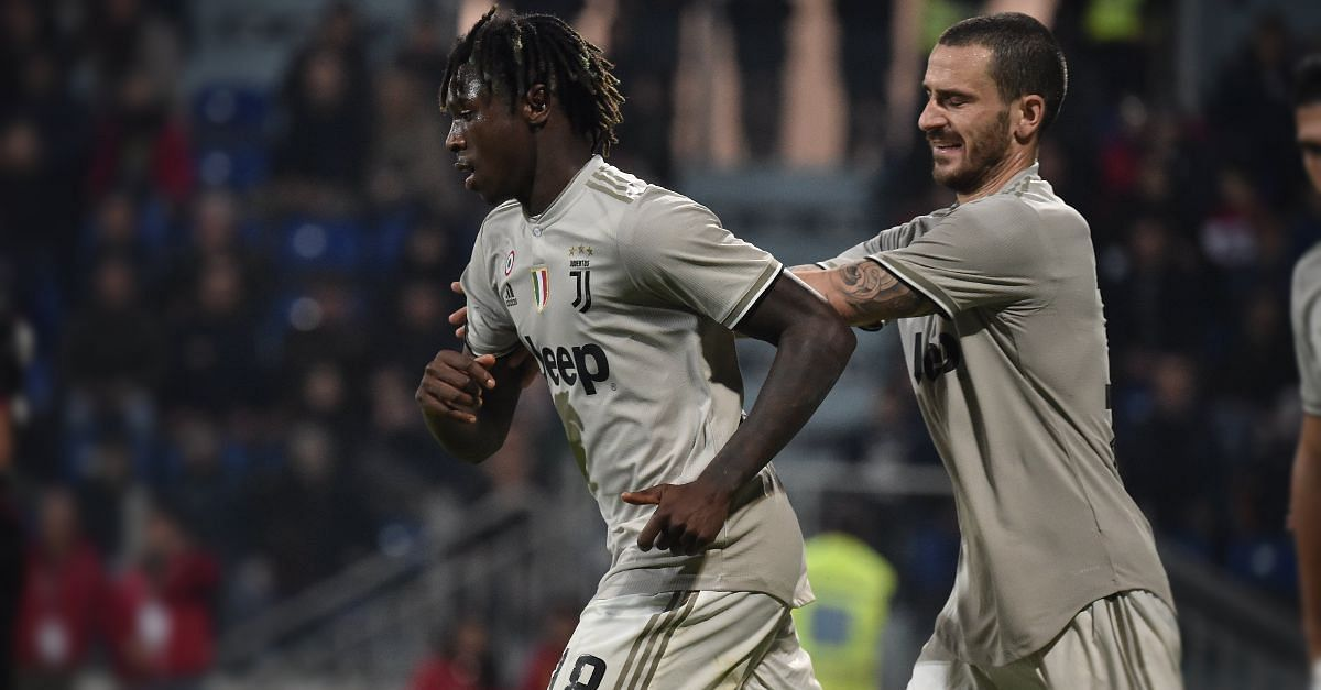 Sterling Blasts Bonucci For '50-50' Moise Kean Racism Comment