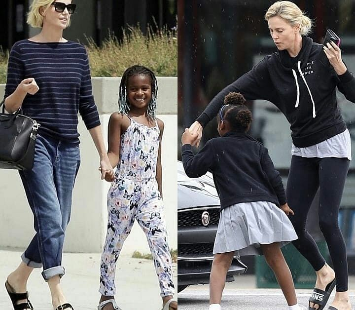 Nigerians Crucify Charlize Theron For Raising Her 7-Year-Old Son As A Girl