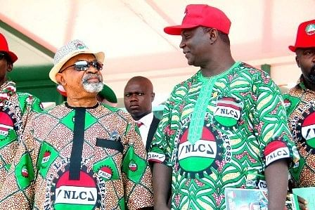Chris Ngige and NLC President, Wabba
