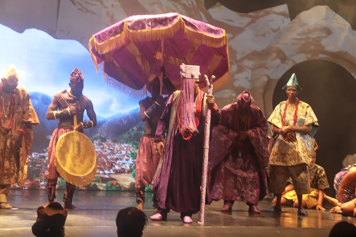 Exclusive Pictures Of Queen Moremi The Musical