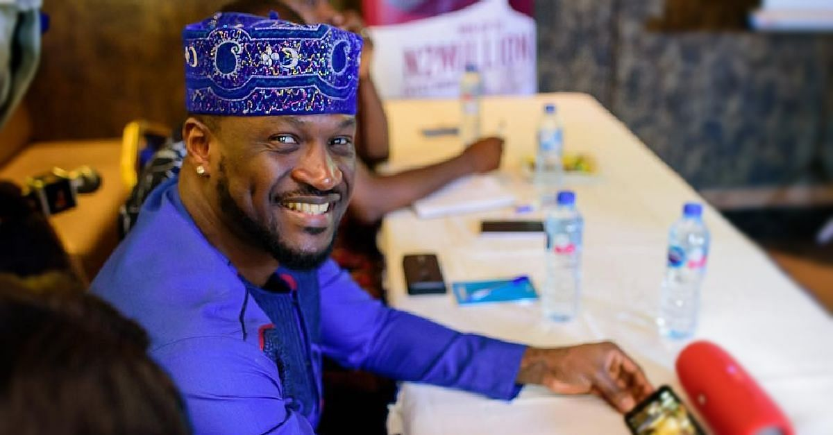 Peter Okoye Fails To Celebrate Elder Brother On His Birthday