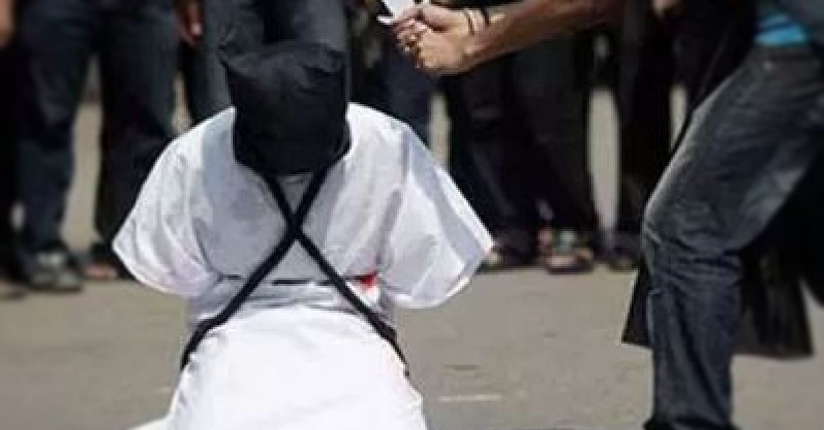 Executed Nigerian woman