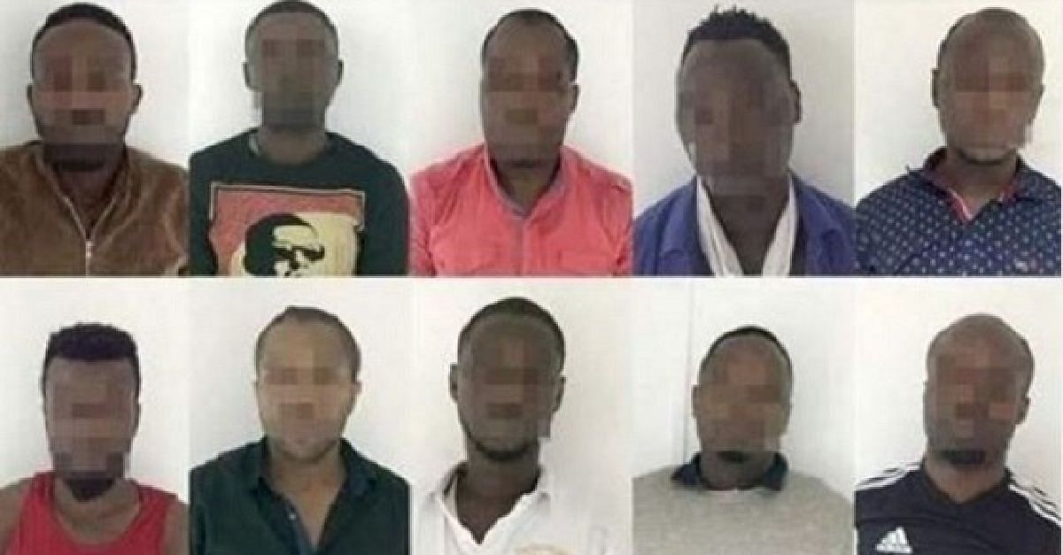 The convicted Nigerians in UAE