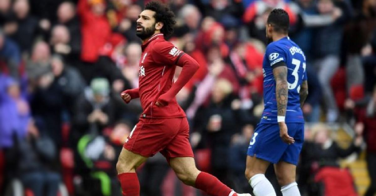 Mohamed Salah Believes Four More Wins Would Give Liverpool The EPL Title