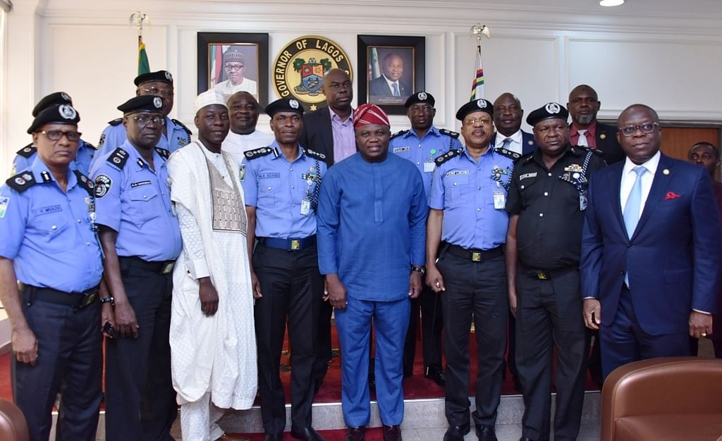 The cross session of IGP team and Ambode