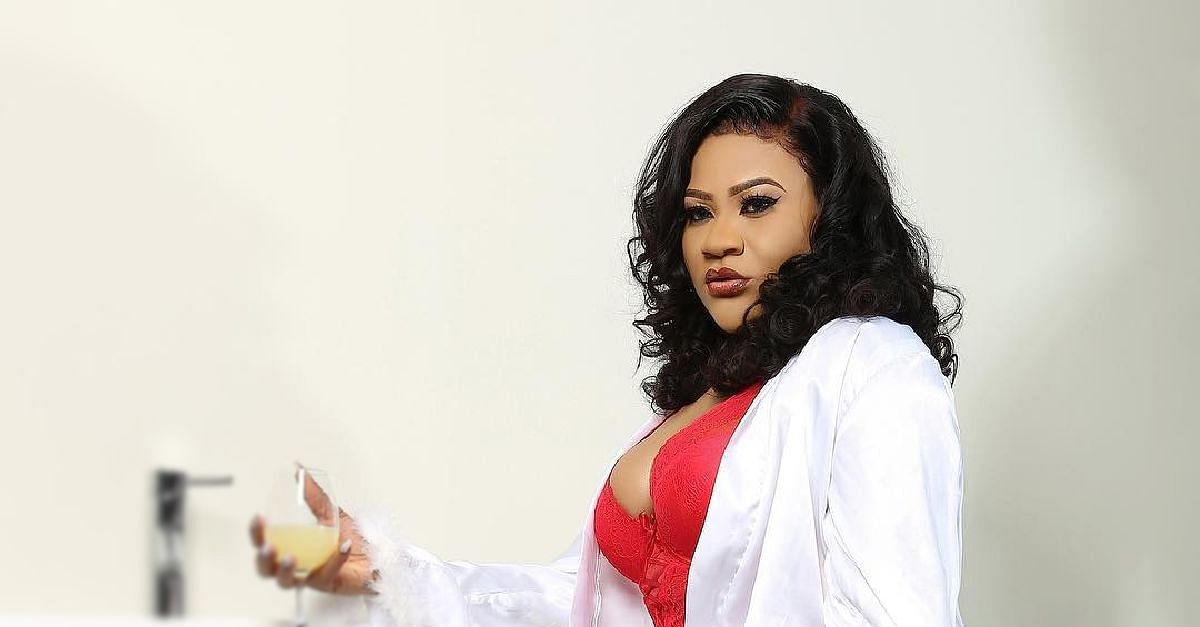 Actress, Nkechi Blessing, Caught Off Guard Without Filter
