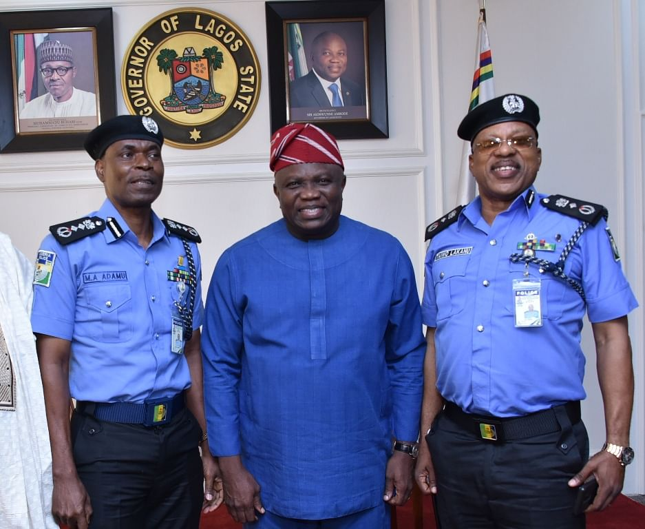 IGP, Ambode and a top officer