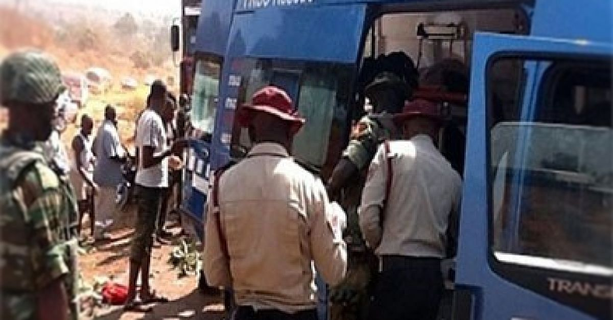FRSC Officials Chase Commercial Driver To Death, Four Others Injured